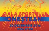 Gala Sportului Onestean – 20 decembrie 2016
