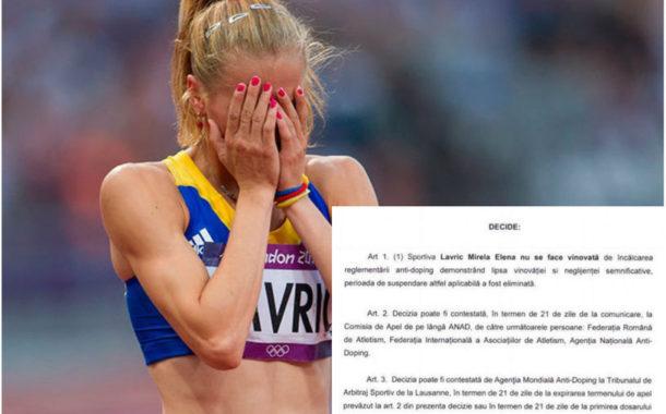 EXCLUSIV | Eroare: a ratat JO de la Rio nevinovată. Cine plăteşte pentru drama Mirelei Lavric? ACTE