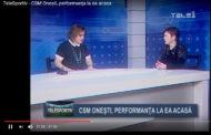 TeleSportiv – CSM Oneşti, performanţa la ea acasa