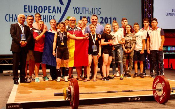 Mihaela Cambei este tripla campioana europeana la haltere