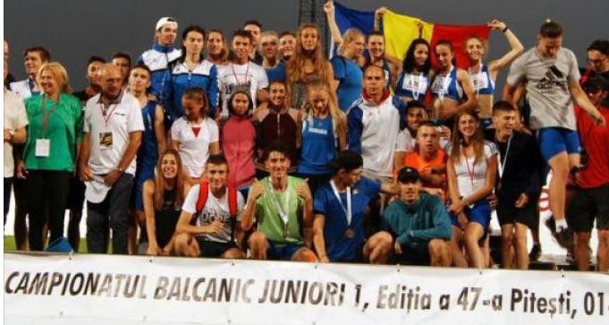 ROMÂNIA, LOCUL AL DOILEA PE NAȚIUNI LA BALCANIADA DE ATLETISM PENTRU JUNIORI 1