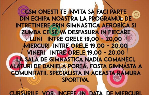 Aerobic la CSM Onesti